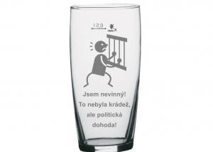 vtipný štuc na pivo pro politika, starostu, padoucha