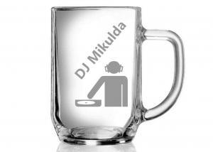 půllitr pro DJ - diskodžokoje s přezdívkou
